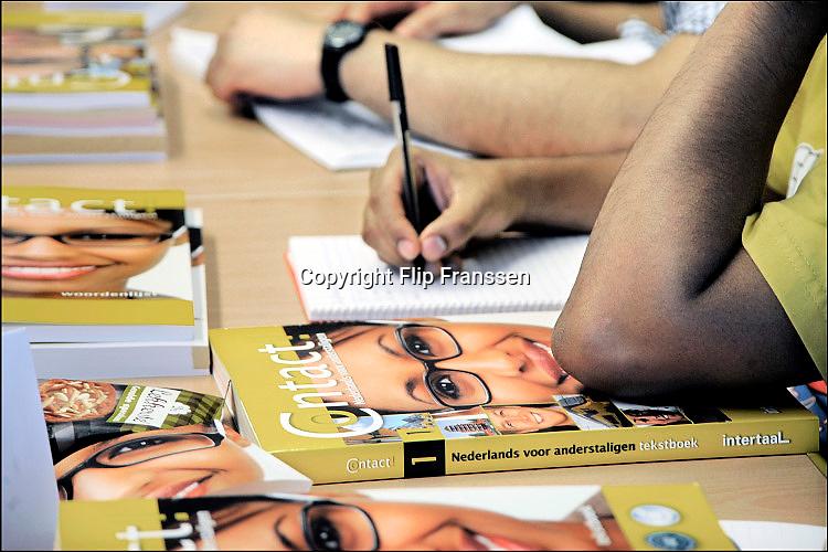 Nederland, Nijmegen, 12-10-2010Studenten uit het buitenland volgen op de radboud universiteit, RU, een taalcursus Nederlands.Foto: Flip Franssen/Hollandse Hoogte