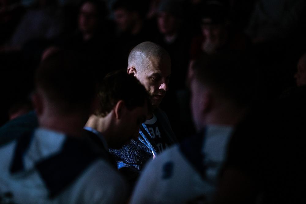 ÖSTERSUND 20200310<br /> Jämtlands RT Guinn under tisdagens match i basketligan mellan Jämtland Basket och Södertälje Basket i Östersunds Sporthall.<br /> <br /> Foto: Per Danielsson/Projekt.P