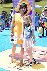 July 23, 2017 - Westwood, California, U.S. - Constance Zimmer and Colette Lamoureux arrives for the premiere of the film 'The Emoji Movie' at the Regency Village theater. (Credit Image: © Lisa O'Connor via ZUMA Wire)