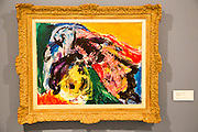 'Composition' 1965 by Asger Jorn 1914-1973, oil on canvas, Kode 4 art gallery Bergen, Norway - check copyright status for intended use