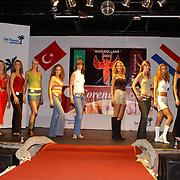 Miss Nederland 2003 reis Turkije, repetities show, alle missen