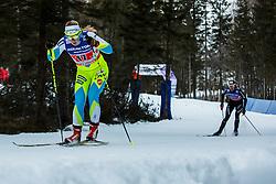 Nika Razingar of Slovenia during 6 x 1.2 km Team Sprint Free race at FIS Cross Country World Cup Planica 2016, on January 17, 2016 at Planica, Slovenia. Photo By Grega Valancic / Sportida