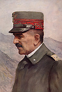 General Armando Diaz (1861-1928), Italian army officer.  Italian Chief-of-staff from October 1917 to the end of the First World War.