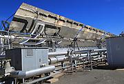 Solar energy scientific research centre, Tabernas, Almeria, Spain