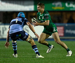 Kyle Godwin of Connacht<br /> <br /> Photographer Simon King/Replay Images<br /> <br /> Guinness PRO14 Round 14 - Cardiff Blues v Connacht - Saturday 26th January 2019 - Cardiff Arms Park - Cardiff<br /> <br /> World Copyright © Replay Images . All rights reserved. info@replayimages.co.uk - http://replayimages.co.uk