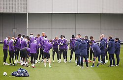 Manchester City players during the training session at the Etihad Campus ahead of the UEFA Champions League second leg match against FC Barcelona - Photo mandatory by-line: Matt McNulty/JMP - Mobile: 07966 386802 - 17/03/2015 - SPORT - Football - Manchester - Etihad Campus - Barcelona v Manchester City - UEFA Champions League
