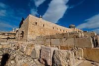 Jerusalem Archaological Park, Jerusalem, Israel.