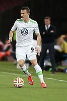 Ivan Perisic Wolfsburg, <br /> Napoli 23-04-2015 Stadio San Paolo <br /> Football Calcio UEFA Europa League Quarter-finals, second len. Napoli - Wolfsburg.<br /> Foto Cesare Purini / Insidefoto