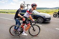 Matteo TRENTIN of UAE TEAM EMIRATES during 1st Stage of 27th Tour of Slovenia 2021 cycling race between Ptuj and Rogaska Slatina (151,5 km), on June 9, 2021 in Sports park Kranj, Kranj, Slovenia. Photo by Vid Ponikvar / Sportida