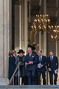 Prince Charles and Camilla leave followed by Prince William, Kate and Prince Harry - Grenfell Tower National Memorial Service at St Paul's Cathedral exactly six months on from the Grenfell Tower disaster. Grenfell Tower survivors and families of the bereaved attended and the order of service focused on remembering those who lost their lives, on providing messages of support for the bereaved, and on offering strength and hope for the future, for those of all faiths and none. London 14 December 2017