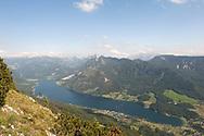 View of Grundlsee from the trail to Trisselwand, Ausseerland, Salzkammergut, Austria © Rudolf Abraham