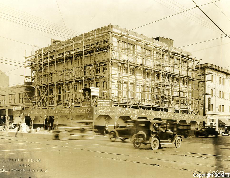1924 SW corner of Hollywood Blvd. & Highland Ave.