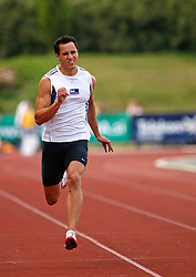 Athlete Marko Bratoz at 2nd Memorial Meeting of Matic Sustersic, on June 3, 2007, Ljubljana, Slovenia.   (Photo by Vid Ponikvar / Sportal Images).
