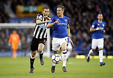 Everton v Newcastle United - 23 Apr 2018
