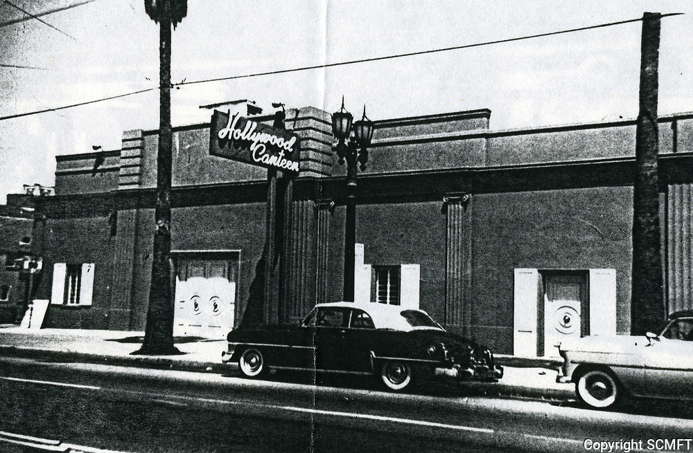 1953 The Hollywood Canteen, located at the former Florentine Gardens on at 5951 Hollywood Blvd. Used during the Korean conflict