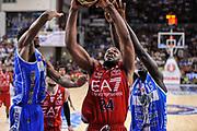 DESCRIZIONE : Campionato 2014/15 Dinamo Banco di Sardegna Sassari - Olimpia EA7 Emporio Armani Milano Playoff Semifinale Gara6<br /> GIOCATORE : Samardo Samuels<br /> CATEGORIA : Tiro Penetrazione<br /> SQUADRA : Olimpia EA7 Emporio Armani Milano<br /> EVENTO : LegaBasket Serie A Beko 2014/2015 Playoff Semifinale Gara6<br /> GARA : Dinamo Banco di Sardegna Sassari - Olimpia EA7 Emporio Armani Milano Gara6<br /> DATA : 08/06/2015<br /> SPORT : Pallacanestro <br /> AUTORE : Agenzia Ciamillo-Castoria/L.Canu
