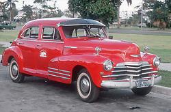 1940's Ford car in Havana; Cuba,