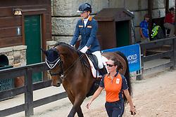 Van Der Horst Rixt, NED, Findsley<br /> World Equestrian Games - Tryon 2018<br /> © Hippo Foto - Sharon Vandeput<br /> 19/09/18