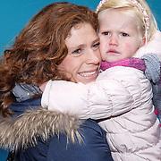 NLD/Amsterdam/20160117 - Premiere Woezel & Pip Op zoek naar de Sloddervos !, Barbara Barend en dochter Livia