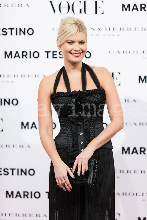 Maya Hansen at Vogue December Issue Mario Testino Party