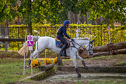 Van Massenhove Arne, BEL, Poulabrandy Queen<br /> LRV Ponie cross - Zoersel 2018<br /> © Hippo Foto - Dirk Caremans<br /> 28/10/2018