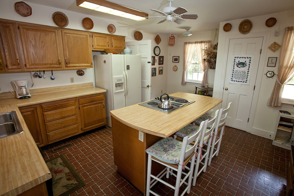 The ample kitchen at 33 Pine View Drive.