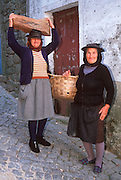 PORTUGAL, EAST CENTRAL Monsanto, ancient village; portrait
