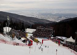 6.1.2011 Sljeme, Zagreb, CRO, Audi FIS World Cup Ski Alpin, Men, Slalom, at Picture finish area; SPORTIDA PHOTO AGENCY © 2011, PhotoCredit: SPORTIDA / Vid Ponikvar