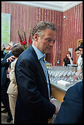 RICHARD GREEN, Drinks party to launch this year's Frieze Masters.Hosted by Charles Saumarez Smith and Victoria Siddall<br />  Academicians' room - The Keepers House. Royal Academy. Piccadilly. London. 3 July 2014