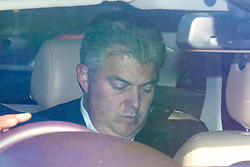 © Licensed to London News Pictures. 23/05/2019. London, UK. Minister without Portfolio and Conservative Party Chair Brandon Lewis is seen leaving Parliament by car. Photo credit: Rob Pinney/LNP