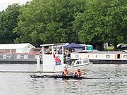 Henley Royal Regatta, Henley on Thames, Oxfordshire, 28 June - 2 July 2017.  Saturday  11:17:36   01/07/2017  [Mandatory Credit/Intersport Images]<br /> <br /> Rowing, Henley Reach, Henley Royal Regatta.<br /> <br /> The Women's Double Sculls<br />  B.C. Donoghue & O.K. Loe (Waiariki Rowing Club, New Zealand)