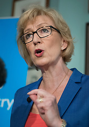© Licensed to London News Pictures. 04/07/2016. London, UK. Conservative MP Andrea Leadsome launches her campaign for the leadership of the Conservative party. Photo credit: Peter Macdiarmid/LNP