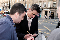 Edinburgh International Film Festival 2019<br /> <br /> End Of Sentence (World Premiere)<br /> <br /> Pictured: Actor John Hawkes arrives for the premiere and signs autographs<br /> <br /> Aimee Todd | Edinburgh Elite media