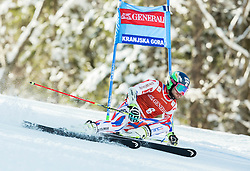 Mathieu Faivre (FRA) competes during 9th Men's Giant Slalom race of FIS Alpine Ski World Cup 55th Vitranc Cup 2016, on March 4, 2016 in Kranjska Gora, Slovenia. Photo by Vid Ponikvar / Sportida