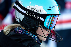 Meta Hrovat of Slovenia before the Ladies' Slalom at 56th Golden Fox event at Audi FIS Ski World Cup 2019/20, on February 16, 2020 in Podkoren, Kranjska Gora, Slovenia. Photo by Morgan Kristan / Sportida