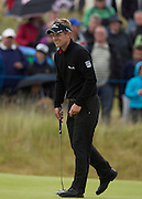 The Aberdeen Asset Management Scottish Open Golf Championship 2012 At Castle Stuart Golf Links..3rd Round Saturday 14-07-12.. .Luke Donald after his great escape from the 14th , during the 3rd Round of The Aberdeen Asset Management Scottish Open Golf Championship 2012 At Castle Stuart Golf Links. The event is part of the European Tour Order of Merit and the Race to Dubai....At Castle Stuart Golf Links, Inverness, Scotland...Picture Mark Davison/ ProLens PhotoAgency/ PLPA.Saturday 14th July 2012.
