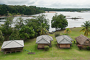 Iwokrama Lodge<br /> Iwokrama Reserve<br /> Rainforest<br /> GUYANA<br /> South America