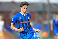 Sam Hart during the EFL Sky Bet League 1 match between Rochdale and Gillingham at Spotland, Rochdale, England on 15 September 2018.