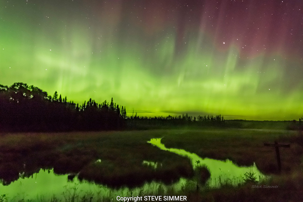 A chilly night in the Superior National Forest pays off when the skies come alive.