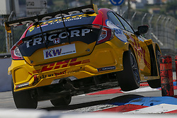 June 23, 2018 - Vila Real, Vila Real, Portugal - Tom Coronel from Netherlands in Honda Civic Type R TCR of Boutsen Ginion Racing during the Race 1 of FIA WTCR 2018 World Touring Car Cup Race of Portugal, Vila Real, June 23, 2018. (Credit Image: © Dpi/NurPhoto via ZUMA Press)