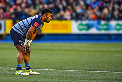 Cardiff Blues' Willis Halaholo - Mandatory by-line: Craig Thomas/Replay images - 31/12/2017 - RUGBY - Cardiff Arms Park - Cardiff , Wales - Blues v Scarlets - Guinness Pro 14