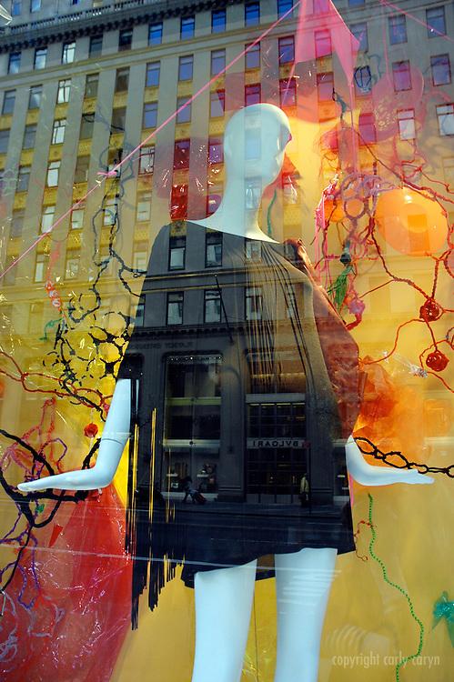 Bergdorf Goodman spring, black fringe psychedelic