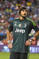 July 25, 2018 - Philadelphia, PA, U.S. - PHILADELPHIA, PA - JULY 25:  Juventus goal keeper Mattia Perin (19) looks on during a International Champions Cup match between Juventus and FC Bayern Munich on July 25,2018, at Lincoln Financial Field in Philadelphia,PA. Juventus won 2-0. (Photo by Andy Lewis/Icon Sportswire) (Credit Image: © Andy Lewis/Icon SMI via ZUMA Press)