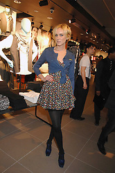 KIMBERLEY STEWART at a party to celebrate the opening of the new H&M store at 234 Regent Street, London on 13th February 2008.<br /><br />NON EXCLUSIVE - WORLD RIGHTS
