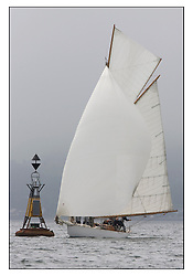 Viola 1908 Gaff Cutter at the Gantock Cardinal...Sunday race from Largs to Rhu started damp but briefly lifted for a downwind race to the upper Clyde...* The Fife Yachts are one of the world's most prestigious group of Classic .yachts and this will be the third private regatta following the success of the 98, .and 03 events.  .A pilgrimage to their birthplace of these historic yachts, the 'Stradivarius' of .sail, from Scotland's pre-eminent yacht designer and builder, William Fife III, .on the Clyde 20th -27th June.   . ..More information is available on the website: www.fiferegatta.com . .Press office contact: 01475 689100         Lynda Melvin or Paul Jeffes