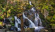 Rodney Falls, Beacon Rock State Park, Skamania County, Washington.