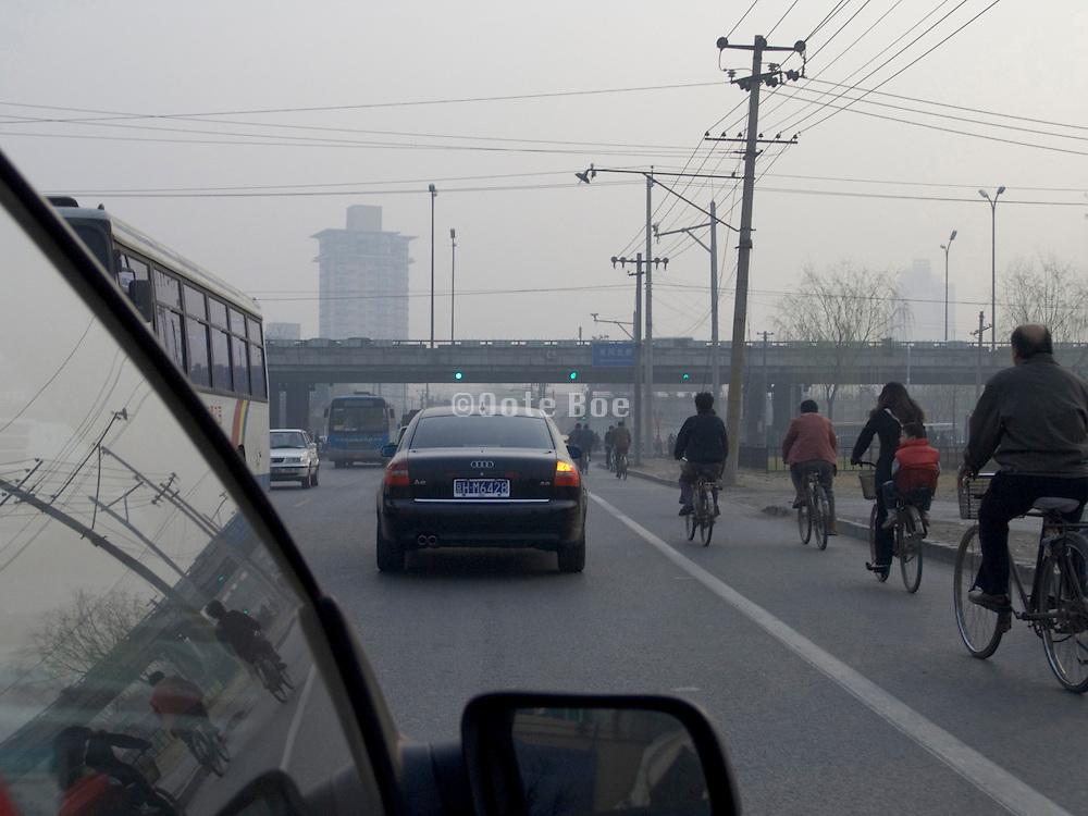 traffic Beijing China