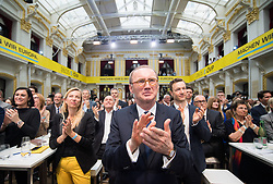 04.05.2019, Sofiensäle, Wien, AUT, ÖVP, Wahlkampfauftakt zur EU-Wahl. im Bild EU-Spitzenkandidat Othmar Karas (ÖVP) // Topcandidate Othmar Karas during campaign opening regarding to Eurpean Parliment Elections of the Austrian People' s Party in Vienna, Austria on 2019/05/04. EXPA Pictures © 2019, PhotoCredit: EXPA/ Michael Gruber