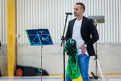Sasa Abric during Opening event of Sports hall Baza, on January 8, 2018 in Sports hall Baza, Ljubljana, Slovenia. Photo by Ziga Zupan / Sportida