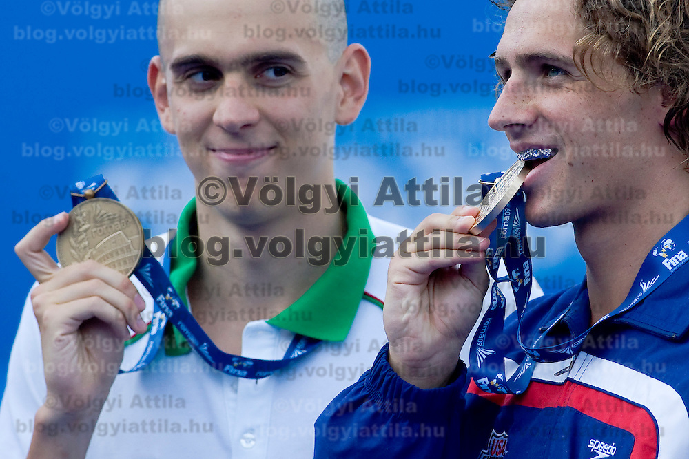 Swimming competition during the 13th FINA Swimming World Championships held in Rome, Italy. Sunday, 02. August 2009. ATTILA VOLGYI